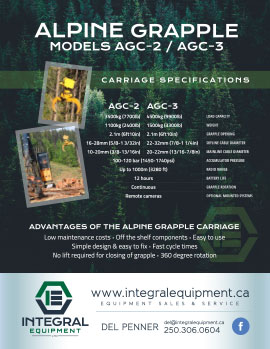 Brochure (back) for Alpine Grapple AGC-2-3